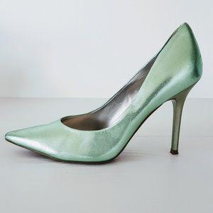 Guess | Mint Green Merilyn Pointy Toe Heels